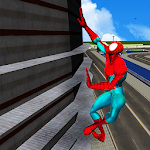 Spider Hero in Action: Street Fighting City Battle Icon