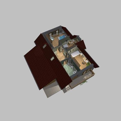 APS 110 - Rzut poddasza 3D