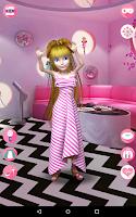 Screenshot of Talking Pretty Girl