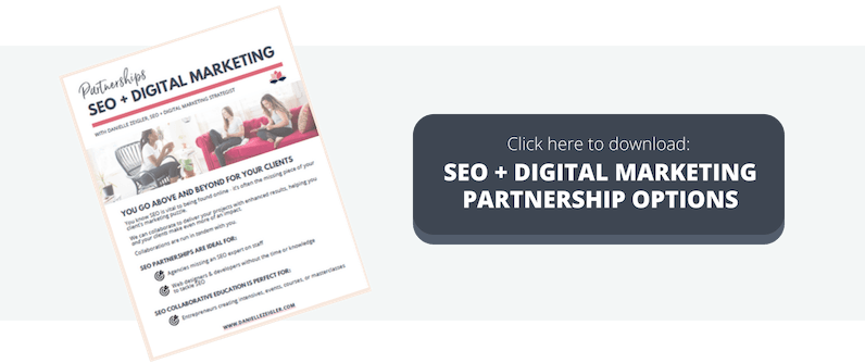 SEO Partnership for Agencies Developers & Designers