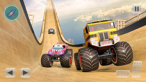 Mega Ramp Monster Truck Stunts Racer 1.0 screenshots 2
