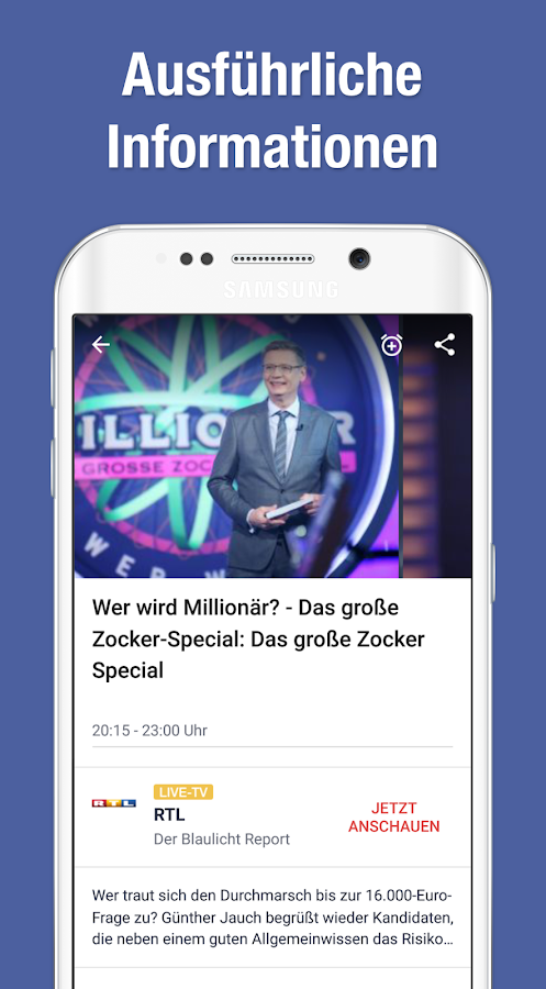TV Guide & Schedule by TV.de - Apps on Google Play