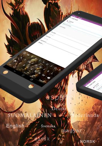GO Keyboard Ghost Monsterr|玩個人化App免費|玩APPs