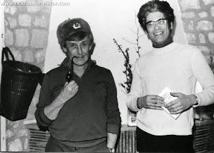 Photo: Виктор Некрасов и Степан Татищев, Марлотт, 27.3.1975