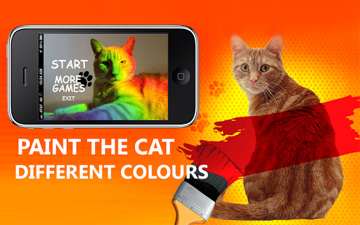 Paint a Cat in Color Joke