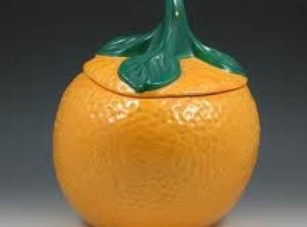 Orangeburst Wafer Cookie Ball