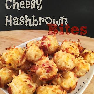 Cheesy Hashbrown Bites