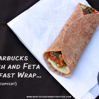 Starbucks Spinach and Feta Breakfast Wrap...(copycat).