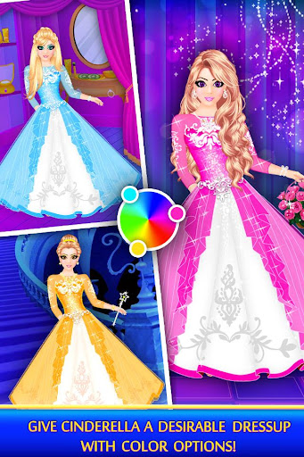 Cinderella Beauty Makeover : Princess Salon 1.8 screenshots 4