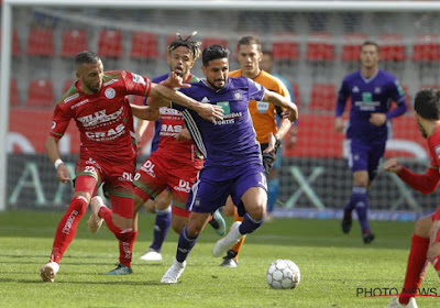 Kenneth Saief, absent du stage d'Anderlecht, proche d'une solution