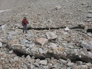 Photo: ледник под пер. Джалпакол Северный