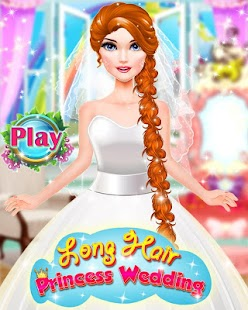 Tải Game Long Hair Princess Wedding Love Story