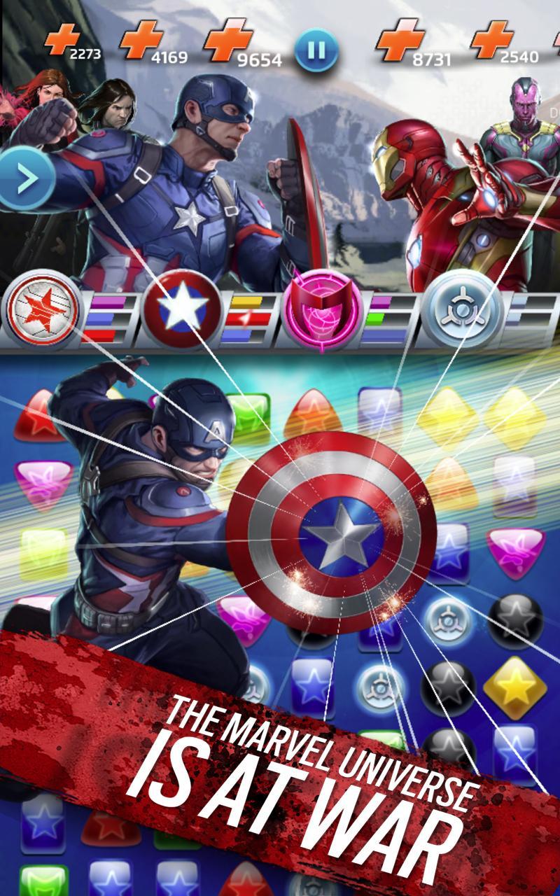Marvel Puzzle Quest screenshot #14
