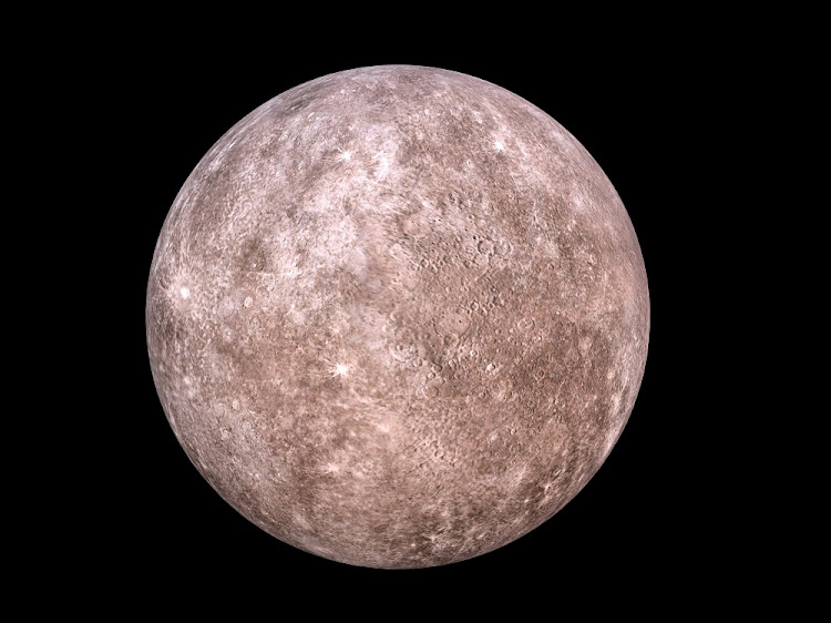 An illustration of the planet Mercury. Picture: RF123