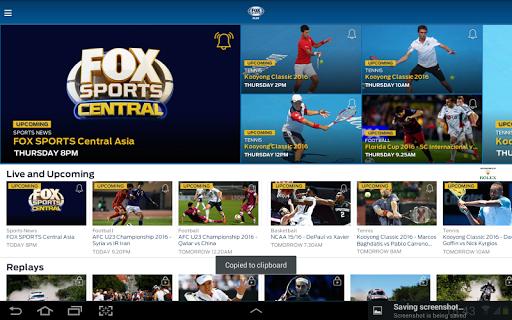 FOX Sports Asia 3.4.5 screenshots 9