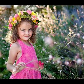 www.melissapapajphotography.com by Melissa Papaj - Babies & Children Child Portraits ( child, girl, female, flowers, garden,  )