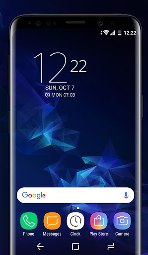 Download Galaxy S9 blue | Xperiau2122 Theme MOD APK 1