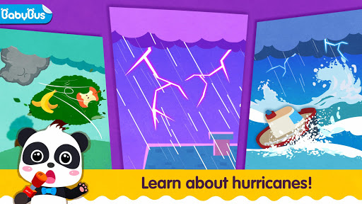 Little Panda's Weather: Hurricane Screenshot