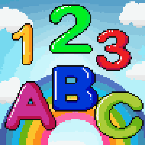 Color by Number Learn For Kids: Pixel Art Coloring Icon