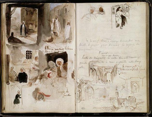 """Résultat de recherche d'images pour """"les Carnets de voyage d'Eugène Delacroix"""""""
