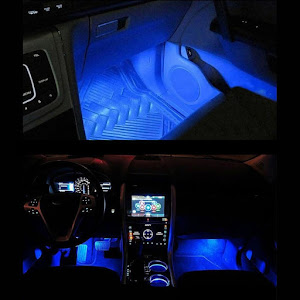 Lumini auto LED ambientale, Ice Blue TY-780