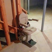 Photo: 180 Turn Custom Stairlift