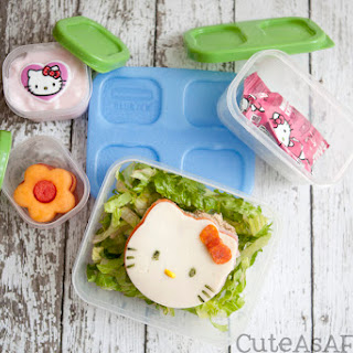 Hello Kitty Bento Style Lunch.