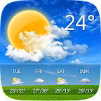 Go-weather-EX-free-best-android-app