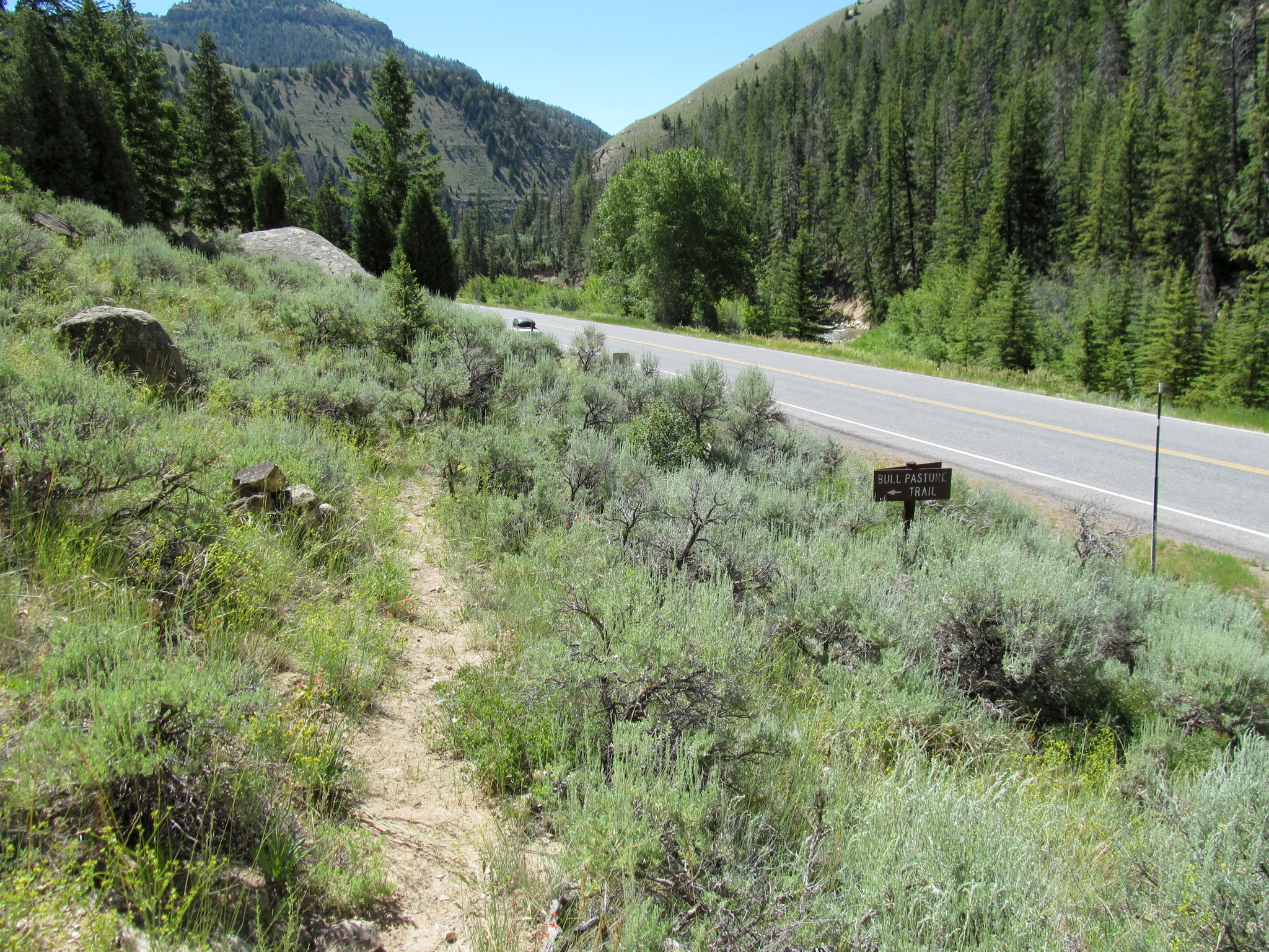 Photo: Bottom of the trail at Highway 31