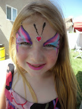 Photo: Pretty face painting by Heidi, La Verne, Ca 888-750-7024