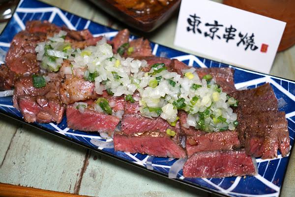 西門最美餐酒館 東京串燒。酒場 #微醺調酒 #來自地獄的皮蛋 #平價串燒 #情色版醬燒潮吹頂級牛排 #內有菜單menu