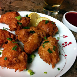 Crab Fritter.