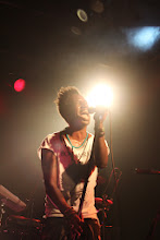 Photo: Saul Williams performing in San Francisco in March, 2012. On p. 81 of Oakland in Popular Memory. Photo by Joe Sciarrillo