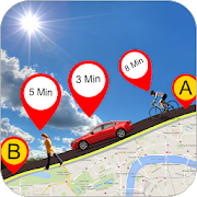 GPS Route Finder : Driving Route & Local Transport