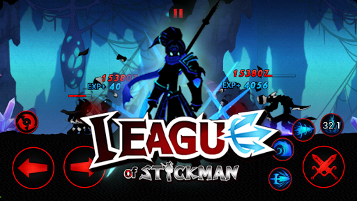 League of Stickman 2019- Ninja Arena PVP(Dreamsky) screenshots 19