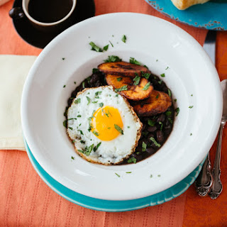 Black Beans and Plantains Breakfast Bowl Recipe