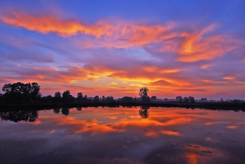 Cielo ed acque della Bassa di Daimon