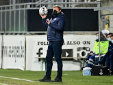 Hein Vanhaezebrouck déçu après l'élimination en Coupe contre Eupen