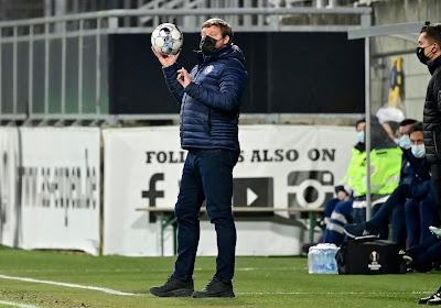"""Hein Vanhaezebrouck déçu après l'élimination : """"Nous devons digérer cette défaitemais il faut resterdans le coup en championnat"""""""