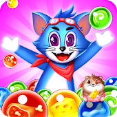 Tomcat Pop: Bubble Shooter Games