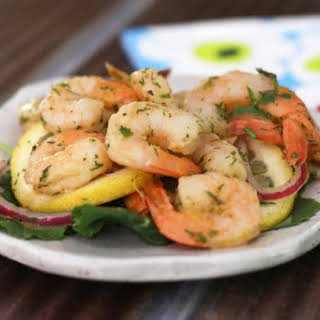 Southern Pickled Shrimp with Fresh Dill.