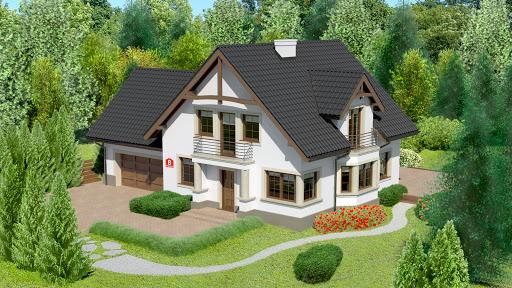 projekt Dom przy Przyjaznej 8