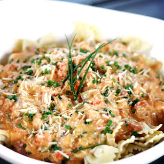 Creamy Crawfish Pasta.