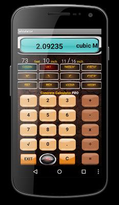 Concrete Calculator FREE! - screenshot