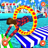 Legendary Stuntman Run 3D: Water Park WipeOut Game Android APK Download Free By Collider Game Studio