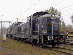 Photo: SM42-2664 & ST44-R008 (CTL) {Toruń Wschodni; 2013-10-17}