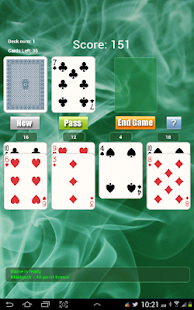 21 Solitaire Game FREE- screenshot thumbnail