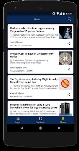 My Crypto - Cryptocurrency Market Cap & News screenshot 4