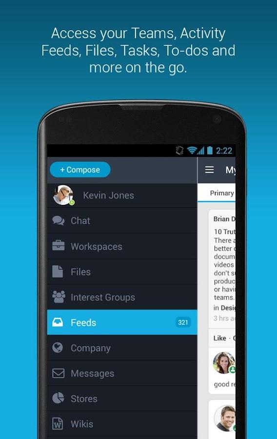 MangoApps- screenshot