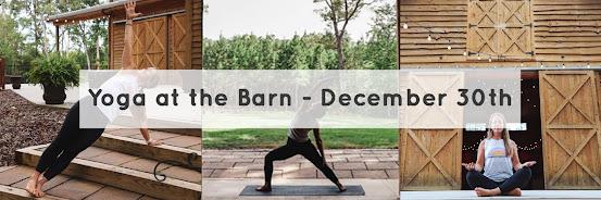 Winter Yoga at the Barn